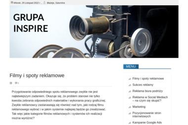 Grupa Inspire. Nagrywanie, filmowanie konferencji, filmy promocyjne - Wideofilmowanie Włocławek