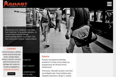 Han Art Agencja Reklamowa Cyfrowa Drukarnia Wielkoformatowa Hanna Kopeć - Agencja marketingowa Kłodzko
