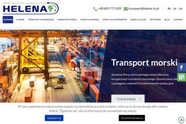 Helena Transport-Spedycja H. J. Burek s.j. - Transport ciężarowy krajowy Gościcino