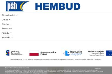 Grupa PSB - Hembud. Materiały budowlane, artykuły wyposażenia wnętrz - Sklep Budowlany Puławy