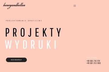 Henryandhellen Studio Projektowania Graficznego Maria Piłat - Usługi Reklamowe Opole Lubelskie