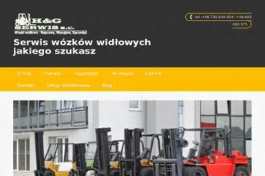 H&G Serwis s.c. - Wózki widłowe Katowice