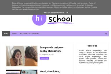 Hi!School Centrum Języków Obcych. Język angielski, język niemiecki, język hiszpański - Kurs francuskiego Ząbki