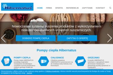 Hibernatus 2 S.C. Pompy ciepła, chłodnice, grzejniki - Penele Grzewcze Nowy Żabieniec