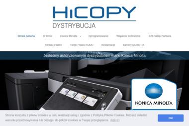 Hicopy Dystrybucja Sp. z o.o. - Urządzenia Biurowe Warszawa