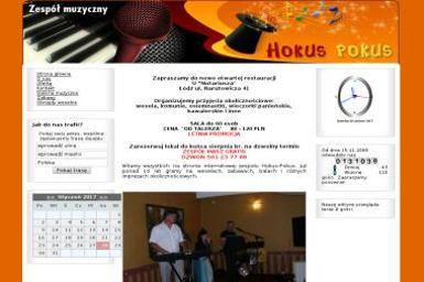 Zespół muzyczny Hokus-Pokus - Zespół muzyczny Łódź