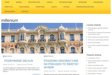 Hotel Millenium - Trener personalny Bochnia