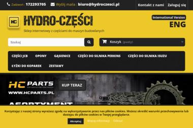 JCB Części - HydroCzesci.pl. Części zamienne jcb - Maszyny budowlane Tyczyn