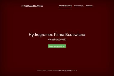 Firma Budowlana Hydrogromex. Michał Grużewski - Konstrukcje Inżynierskie Opole