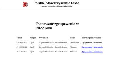 Polskie Stowarzyszenie Iaido - Joga Opole