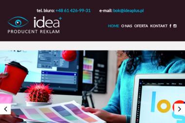 Agencja Reklamowa Idea Plus S.C. Krzysztof Przybylski Waldemar Stefaniak - Drukowanie Gniezno