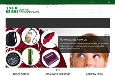 Agencja Reklamowa Infotext - Piaskowanie Drewna Gliwice