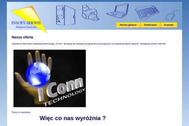 Insoft-Serwis Zbigniew Grzelczak - Komputery i sieci Bydgoszcz