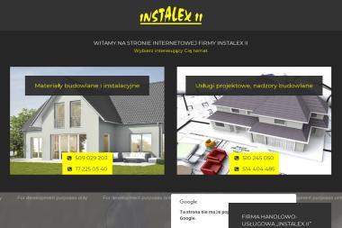 FHU Instalex II. Materiały budowlane, materiały instalacyjne - Piece i kotły CO Rakszawa