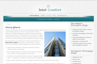 Intelcomfort. Inteligentny dom, inteligentny budynek - Inteligentny dom Wrocław