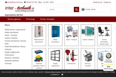 Wyposażenie firm w szafy, wózki, krzesła regały, narzędzia i inne - Schody Metalowe Płock