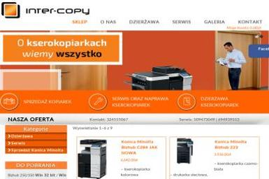 Inter Copy. Kserokopiarki, serwis ksero, naprawa drukarek - Kserokopiarki Wodzisław Śląski