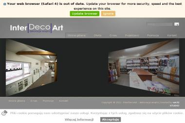 Inter Deco Art. Dekoracja Wnętrz Romuald Miodoński - Schody metalowe Żywiec