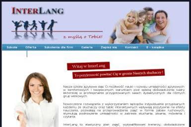 Interlang - Szkoła Języków Obcych - Nauczyciel Angielskiego Radom