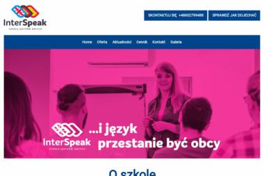 Interspeak. Szkoła języków obcych, nauka języków obcych - Nauczyciele angielskiego Mosina