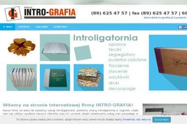 Intro-Grafia - Drukarnia Nidzica