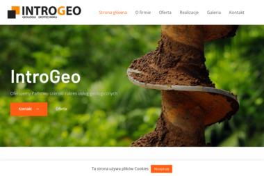IntroGeo. Usługi geologiczne - Geolog Pobiedziska