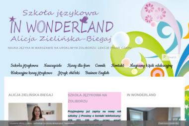 Szkoła Językowa In Wonderland Alicja Zielińska-Biegaj - Kurs włoskiego Warszawa