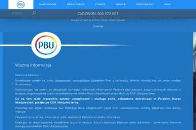PBU - Polskie Biuro Ubezpieczeń - Polisy OC Gdynia