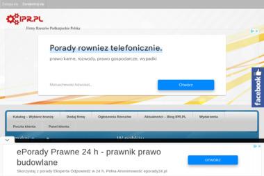 IPR.PL Agencja Reklamowa Info-Podkarpackie. Profesjonalne strony internetowe od A do Z - Pozycjonowanie stron Rzeszów