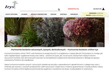 Hurtownia Kwiatów Irys. Karol Ćwikliński - Kosze prezentowe Strzelno