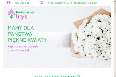 Irys. Kwiaciarnia - Kosze prezentowe Bielsk Podlaski