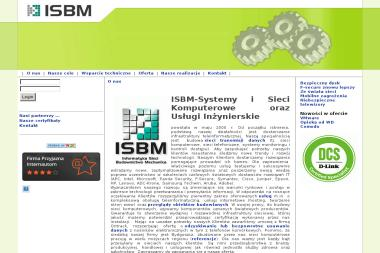 ISBM-Systemy i Sieci Komputerowe oraz Usługi Inżynierskie - Instalacja, konfiguracja komputerów i sieci Bydgoszcz