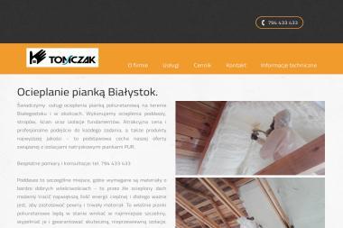 Izolacje Natryskowe Pianą Poliuretanową - Posadzki przemysłowe Choszczno