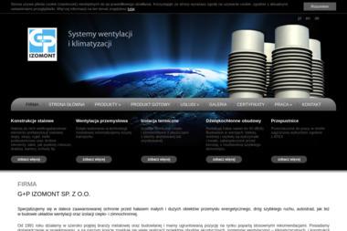 G+P Izomont Sp. z o.o. - Urządzenia, materiały instalacyjne Włocławek