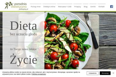 Poradnia Dietetyczna Jadlospisy.pl. Odchudzanie, jadłospisy, diety - Dietetyk Łódź