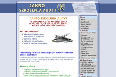 Jacek Kropkowski Ośrodek Szkolenia Wydawnictwo J A K R O - Centrum Szkolenia Zawodowego Sztum