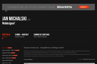 Jan Michalski. Projektowanie logo - Identyfikacja wizualna Bydgoszcz
