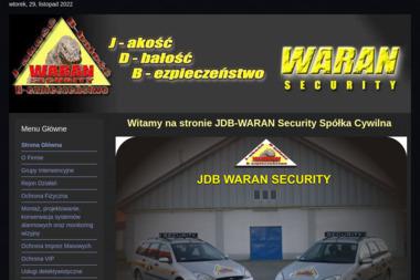 Łukasz Bębenek Jdb Waran Security - Agencja ochrony Kuraszków