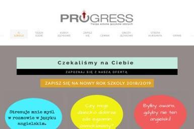 Progress Szkoła Jęzków Obcych. Angielski, szkoła językowa - Nauka Angielskiego Teresin