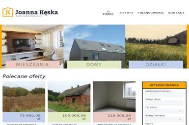 Biuro Nieruchomości Joanna Kęska - Domy z bali Szczyrzyc