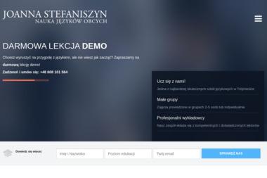 Joanna Stefaniszyn Nauka Języków Obcych. Nauka języków obcych, angielski - Kurs niemieckiego Gdynia