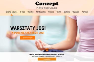 Concept - Płocka Akademia Jogi - Pilates Płock
