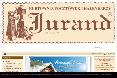 Jurand FHU Daniela Biegalska - Wizytówki na Zamówienie Wrocław