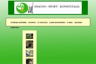 J w Diagno Sport Konsultacja Ilona Pysz - Rehabilitant Ruda Śląska