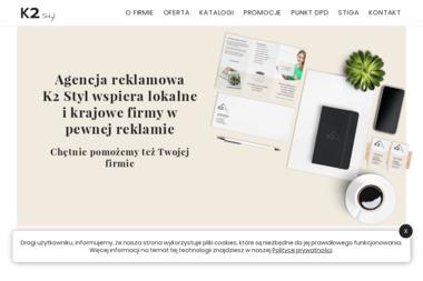 K2 Styl Kamila Krok - Agencja Reklamowa Ścinawa