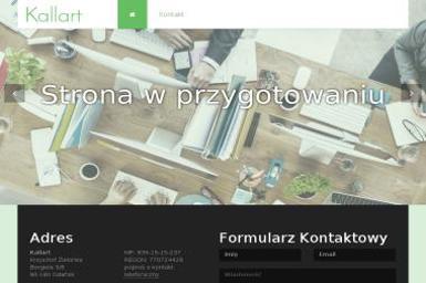 Kallart Krzysztof Zielonka - Sklep Emercator - Agencja Reklamowa Gdańsk