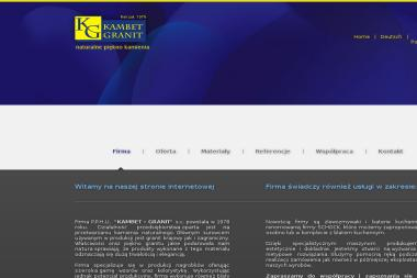 PPHU Kambet Granit S.C. Import Eksport Mosoń Alina Kwiek Krzysztof Mosoń Władysław - Blaty kamienne Olszanka
