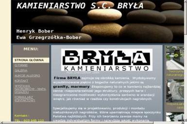 Ewa Grzegrzółka Bober - Schody Granitowe Konary