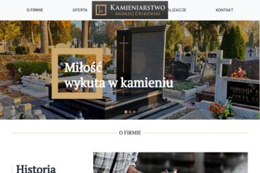 Zakład Kamieniarsko-Betoniarski Andrzej Ćwikowski - Blaty kamienne Ełk