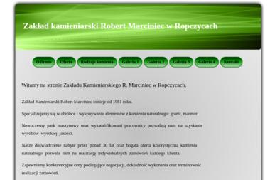 Zakład Kamieniarski Robert Marciniec - Kamieniarz Ropczyce